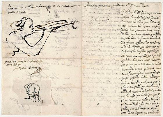 carta a zapater Goya