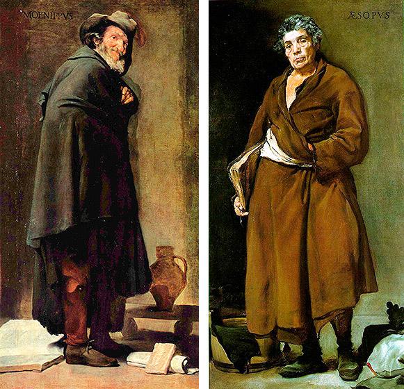 Menipo y Esopo de Velázquez