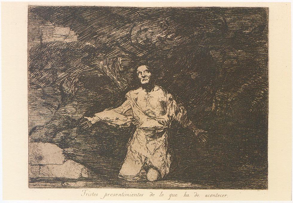 Tristes pensamientos • Francisco de Goya